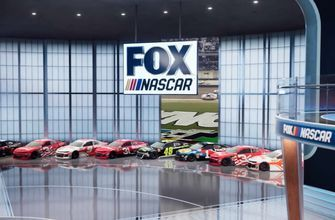 NASCAR Race Hub unveils state-of-the-art virtual set for 2019