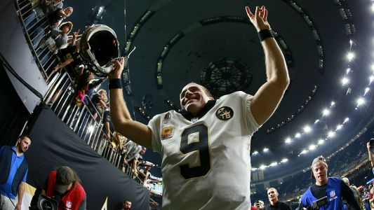 Drew Brees gives special gift to all receivers, linemen who helped him reach career milestone