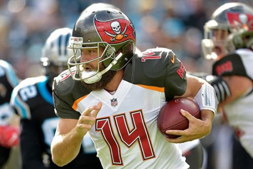 The Buccaneers betting line is seeing a Ryan Fitzpatrick effect
