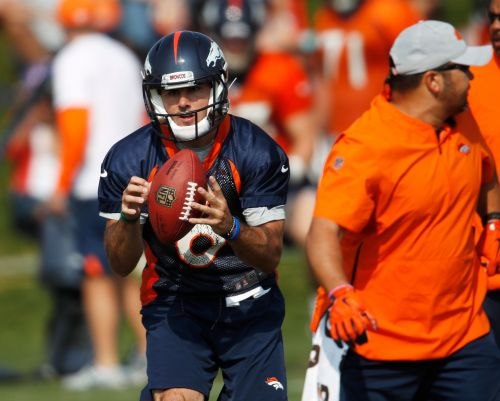 John Elway says he might still seek a veteran backup QB