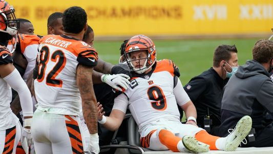 Bengals' Joe Burrow thanks fans in first comments after injury: 'See ya next year'