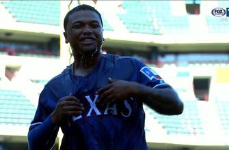 Willie Calhoun continues to make a big impact in Rangers 5-4 Win