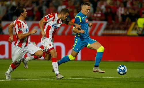 Red Star holds Napoli to 0-0 draw in Champions League