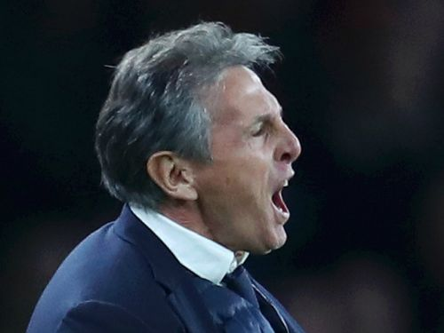 Leicester's Puel angry over Holding handball in Arsenal defeat