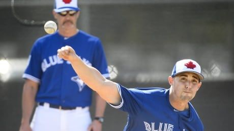 After a season of injuries, Jays' ace Sanchez feeling optimistic early in spring training