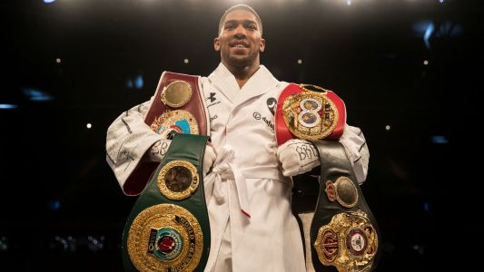 Anthony Joshua vs. Alexander Povetkin announced for Sept. 22 at Wembley Stadium