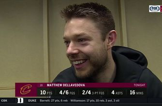 Delly calls Nance's tip-in 'massive' for big win on the road