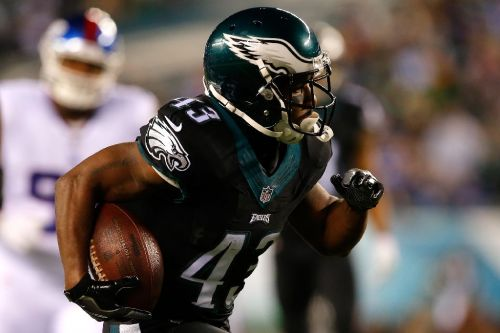 NFL Eagles rusher Sproles to retire after 2018 season