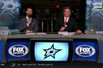 Stars build confidence with 4-3 win over Sharks | Stars Live