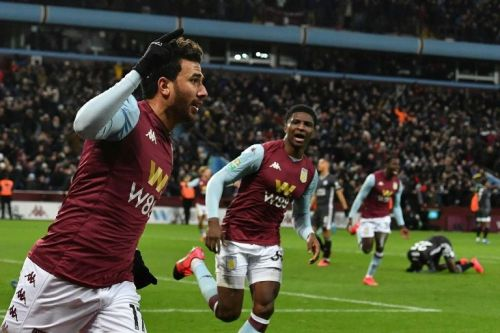 Trezeguet sends Aston Villa into League Cup final