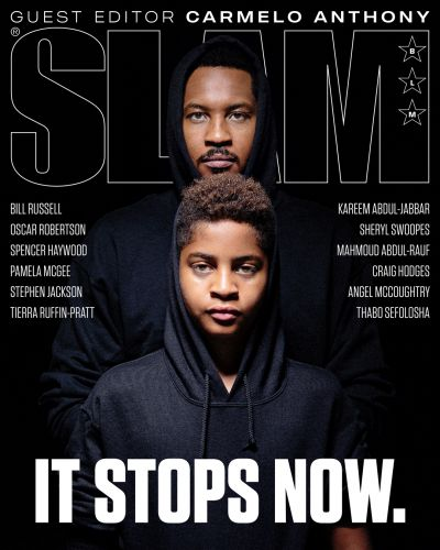 SLAM Special Issue: A Letter From Guest Editor Carmelo Anthony