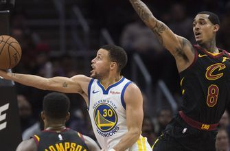 Cavs lose steam after electric 2nd quarter, fall to Warriors 129-105