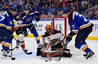 Third period woes continue as Blues held winless in back-to-back games
