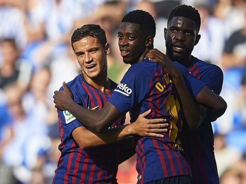 Barcelona can get the best out of Coutinho & Dembele, claims Valverde