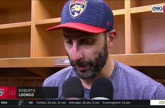 Roberto Luongo breaks down disappointing loss in St. Louis, Blues' 4-goal 3rd period