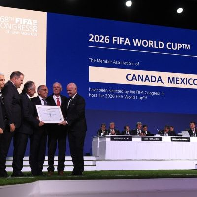 Canada, Mexico and USA selected as hosts of the 2026 FIFA World Cup™