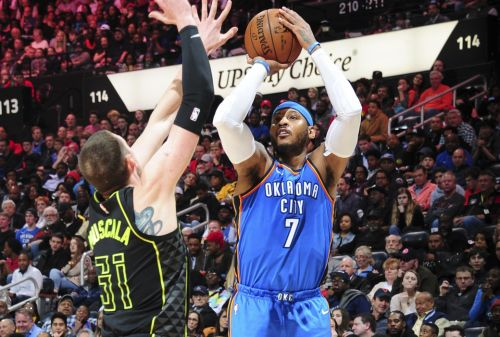 Report: Hawks, Thunder Discussing Carmelo-Schroder Trade