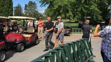 Senators gather for charity golf tournament under cloud of uncertainty
