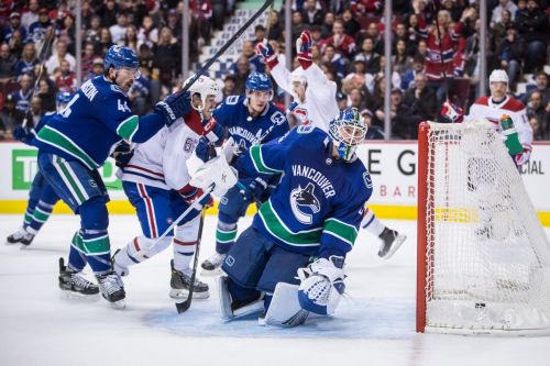 Canucks' slide hits five games with home-ice loss to Canadiens