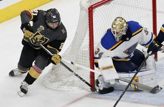 Blues scrounging for wins in last place of Central Division, face Golden Knights
