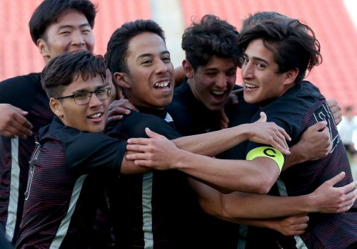 'Brothers' of Layton Christian boys soccer comes together for 2nd 2A title in 3 years