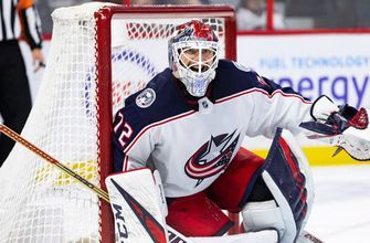 Bobrovsky saves 22 shots, Duchene debuts with Blue Jackets in 3-0 win over Senators