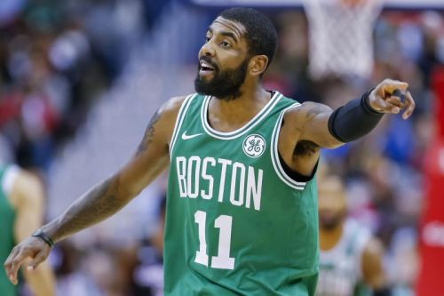 Watch: Celtics' Kyrie Irving ices Raptors with trey from parking lot