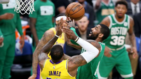 NBA free agency rumors: LeBron James likes Instagram photo of Kyrie Irving in Lakers uniform