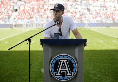 Retired Argonauts and Eskimos quarterback Ricky Ray to join Edmonton's Wall of Honour