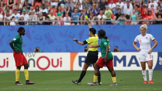 Men need to ref at Women's World Cup - White