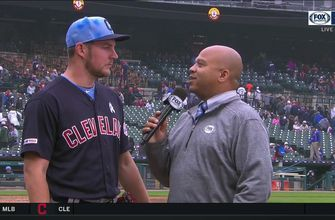 Trevor Bauer reflects on his first complete game shut out
