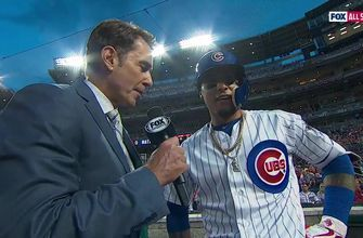 Javier Baez on being a first time All-Star: 'Huge to be here'