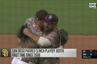 WATCH: Padres clinch 2020 postseason berth with win over Mariners