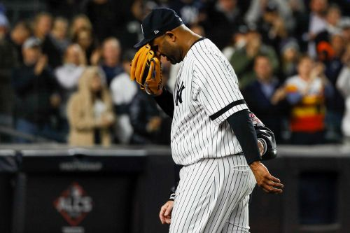 CC Sabathia leaves possible final Yankees outing with injury