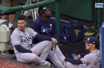 Willy Adames comes to the rescue when Daniel Robertson has allergic reaction