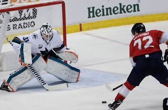 Frank Vatrano erupts for 4 points as Panthers handle Sharks