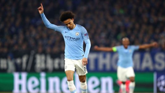 Leroy Sane, Raheem Sterling on target late as 10-man Manchester City defeat Schalke