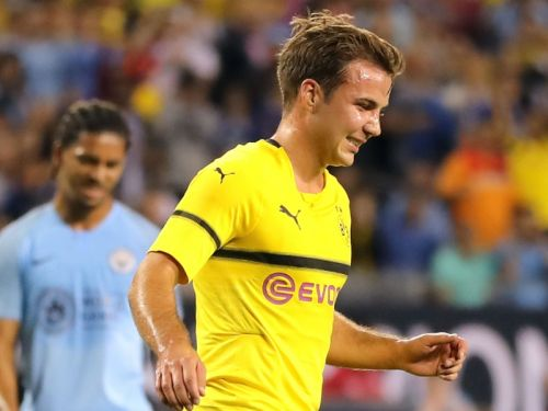 Gotze: I want more game time at Dortmund