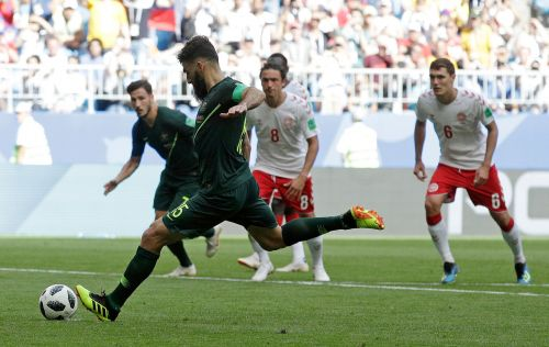 Australia gets crucial 1-1 draw with Denmark at World Cup