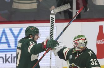 Zucker's goal in shootout seals Wild's 3-2 win over Kings