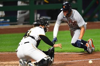 Tigers outlast Pirates 17-13 in ludicrous extra-innings affair