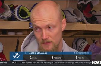 Anton Stralman on ECF: I don't know that we put 60 minutes together in any game