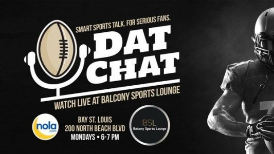 Relive the Saints' big win at the live Dat Chat podcast on Monday in Bay St. Louis