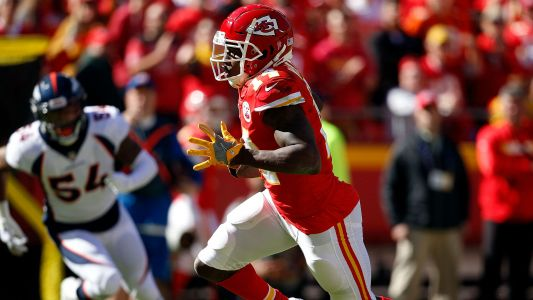 Sammy Watkins injury update: Chiefs WR active, starting vs. Rams