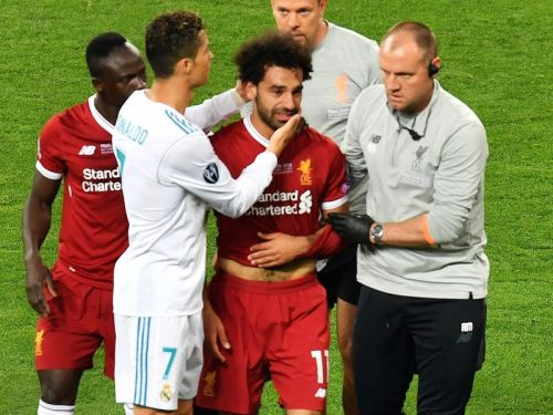 'Get well soon' - Football world sends support to injured Mohamed Salah