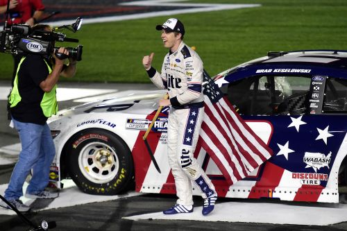 Brad Keselowski wins Coca-Cola 600, extends Jimmie Johnson's drought
