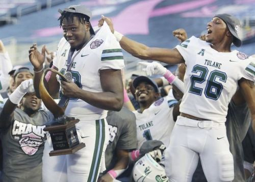 Tulane bowl game MVP Darius Bradwell helps top school record set at 1932 Rose Bowl