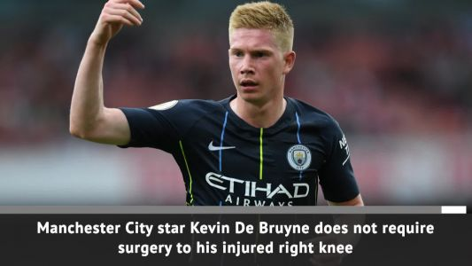 Manchester City confirm Kevin de Bruyne out for three months