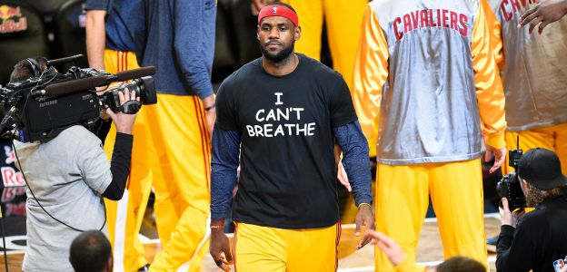 BHM 2019: The 'I Can't Breathe' Warm-Up Shirts