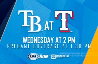 Preview: Rays try to continue keeping playoff hopes alive, sweep Rangers in matinee series finale